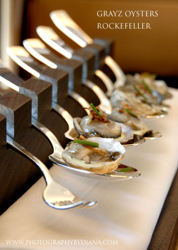 photo of: Gray Kunz Grayz Oysters Rockefeller
