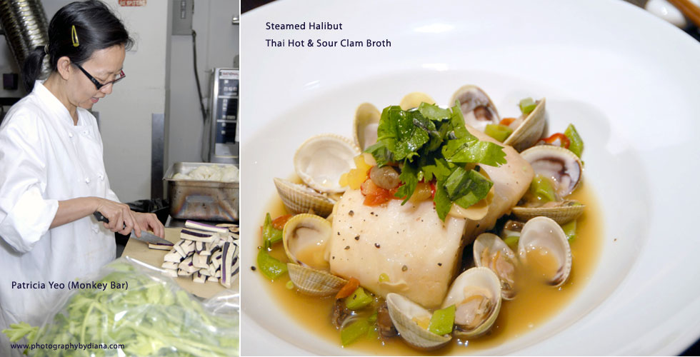 photo of Steamed Halibut Thai Hot & Sour Clam Broth
