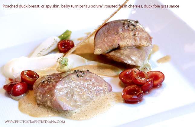 Poached Duck Breast Recipe — Dishmaps