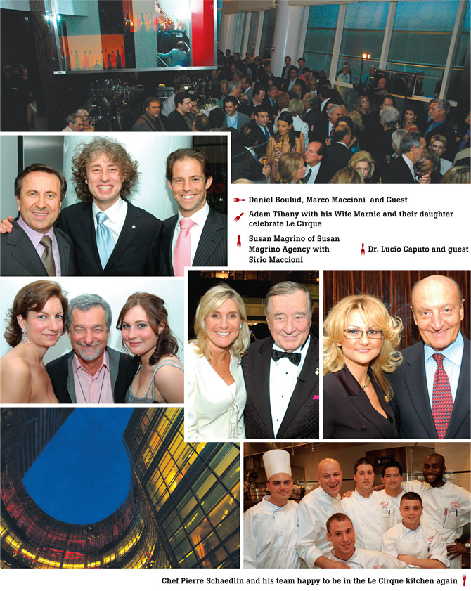 Le Cirque Grand Opening Gala at One Beacon Place
